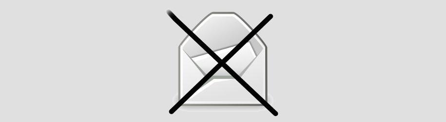 Výzva na měsíc březen: omezený přístup k emailu